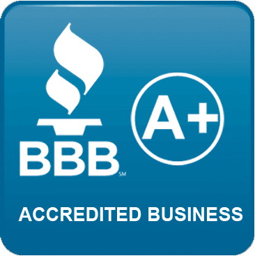 Better Business Bureau Accredited Business - A+